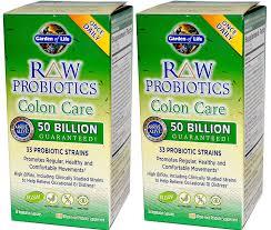 com garden of life raw probiotics colon care 30 count pack of 2 health personal care