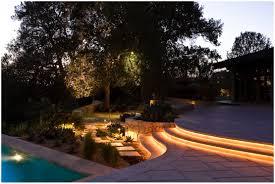 Backyards Beautiful Diy Rope Lights Along Your Garden Step And