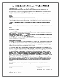 Service Agreement Managed Services Agreement Form New Managed Service Contract 2