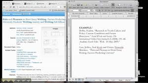 How To Cite An Online Journal Article
