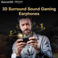 <b>Baseus Gamo Immersive</b> Virtual 3D Surround Sound Gaming Music ...