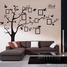 large tree wall sticker photo frame