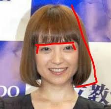 四角い顔ベース顔に似合う髪型女性編