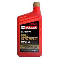 motorcraft sae 5w 30 full synthetic motor oil 1 quart x 12