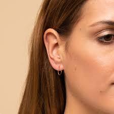 Huggie Hoop Earrings Size Chart Small Hoops