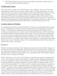 Executive Summary Executive Summary Of The Investigation Report Into The Ams