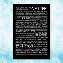 don39t love homeoffice. love your life motivational inspirational quotes art silk canvas poster 13x20 24x36 inches home office decor 006 don39t love homeoffice e