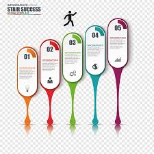 Stair Success Chart Chart Infographic Diagram Colorful