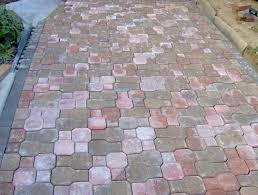 pavestone wall block brick pavers stepping stones home depot