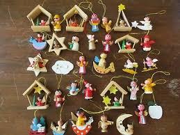 113 Holzfiguren Figuren Weihnachtsdeko Christbaumschmuck