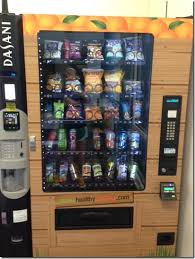Vending Machines For Gyms Mesmerizing A Healthier Vending Machine Peanut Butter Fingers