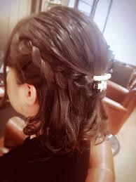春には軽やかなヘアアレンジ西大寺美容室 美容院ネイル