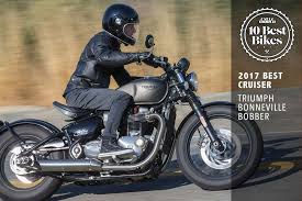 best cruiser triumph bonneville bobber cycle world
