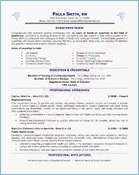Resume With Picture Examples Sample Rn Nursing Resume New