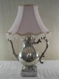 repurposing old teapots | Vintage Silver Plated Teapot Lamp Repurposed by  PinkPicketCottage
