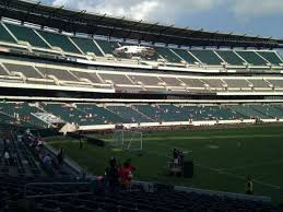 Lincoln Financial Field Section 133 Home Of Philadelphia