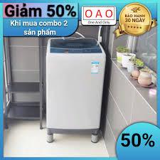 Chống rung máy giặt - 4 miếng cao su 1 2 3 tầng - Kệ máy giặt - Chân đế máy  giặt - Chống ồn máy giặt - Phụ kiện giặt ủi chính hãng 59,000đ