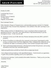 Cover Letter Sample Criminal Justice Resume Sample Criminal