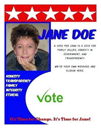 Vote Election Flyer Template By Graphics On Free Political Campaign
