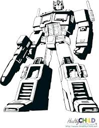 Transformers Coloring Pages To Print Coloring Transformer Color Page
