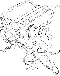 hulk coloring pages hulk marvel 4 kids cars free printable drawings of baby boys weights hulk car lift