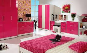 Modern Teenage Girls Bedroom Bedroom Small Modern Teenage Girls Design In Pink Color Theme With