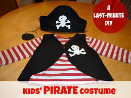 homemade pirate costume for kids