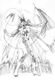 Batgirl Kleurplaat Ausmalbild Detektiv Ausmalbilder Kostenlos Zum