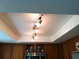 update kitchen lighting.  Lighting How To Update Recessed Fluorescent Lighting In Kitchen Model In X