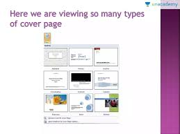 How To Create Cover Page And Difference Between Blank Page And Page Break In Ms Word In Hindi
