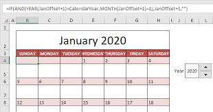 excel calandar calendar template in excel easy excel tutorial