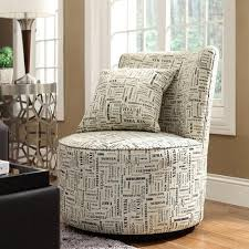 round accent chair. Elegant Round Accent Chair Buy Inspire Q Geometric Print Swivel In Cheap N