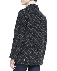 Go Silk Quilted Silk Barn Jacket | Neiman Marcus & Quilted Silk Barn Jacket Adamdwight.com