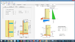 Counterfort Retaining Wall Design Software Counterfort Retaining Wall Design Example Using Asdip Retain