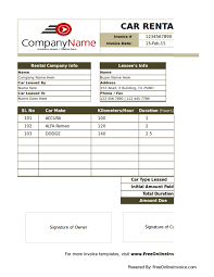 Free 10 Rental Billing Statement Templates In Pdf Word