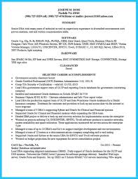 Database Administrator Resume Examples Examples Of Resumes