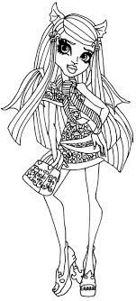 Small Picture 37 best Colouring monster high images on Pinterest Adult