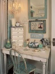shabby chic office decor. Color Inspired By Sea Glass Desk Area Upstairs Office Guest Room Shabby Chic Decor B