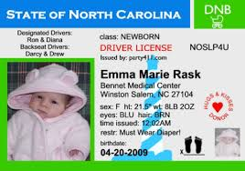Announcements License Driver's Birth Invitations And Personalized