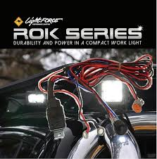 lightforce genuine 12v wiring harness for rok 10 20 40 series lightforce genuine 12v wiring harness for rok 10 20 40 series work lights cbrokh