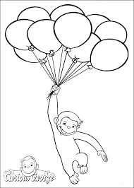 George Coloring Pages Free Printable Curious Coloring Pages And