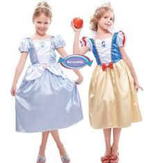 Costume carnevale bimba principessa disney biancaneve