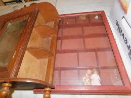 wood wall shelf display shelf shadow