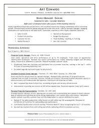 Impressive Ideas Bank Manager Resume Bank Manager Resume Banking