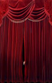 velvet curtain in living room