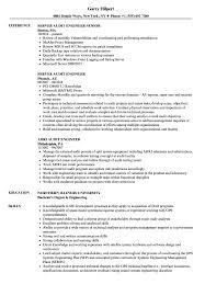 Audit Engineer Resume Samples Velvet Jobs