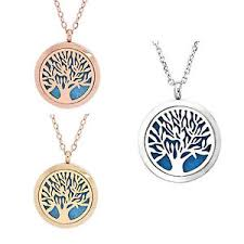 image is loading vincenza aromatherapy essential oil diffuser necklace snless steel