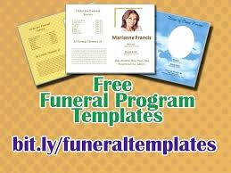 Free Funeral Program Templates Download Delectable Template Printable Event Program Template Memorial Card Word New