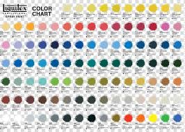 Aerosol Paint Liquitex Acrylic Paint Color Chart Pencil