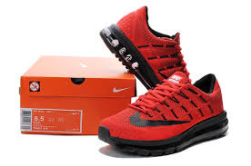 nike running shoes 2016 red. nike air max 2016 black red running shoe shoes